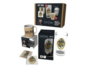 Gift Set - Glas, mugg, underlägg - Harry Potter Set 1