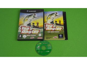 Top Angler Real Bass Fishing KOMPLETT Gamecube Nintendo Game Cube