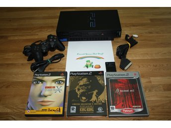 Sony PlayStation 2 PS2 konsol och spel