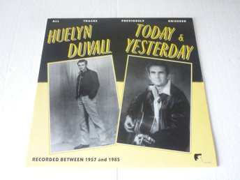 "HUELYN DUVALL NL.WHITE LABEL WLP 8923 LP TODAY & YESTERDAY ""Rockabilly"""