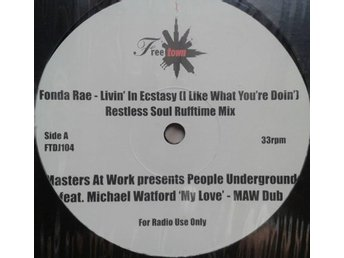 Fonda Rae / People Underground title* Living In Ecstasy / My Love* House 12""