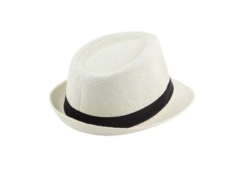 GRATIS FRAKT! VIT BLUES BROTHERS FEDORA JAZZ BLUES HATT KÖP NU! 149:-
