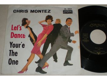 Chris Montez 45/PS Let´s dance 1962