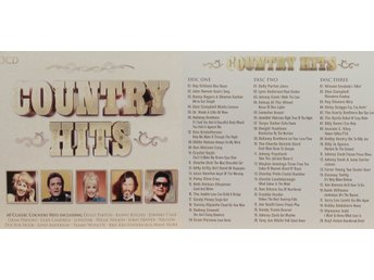 Country Hits, Div artister (3CD)