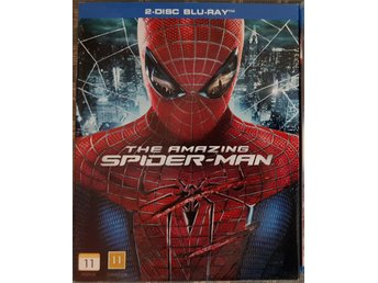 The Amazing Spiderman (2 disc blu-ray)