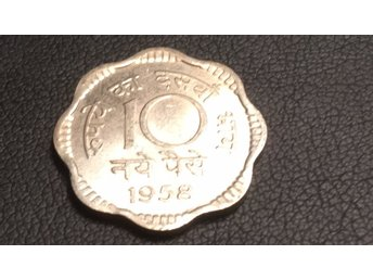 1958 India 10 Paise