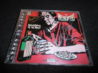Hellacopters - Supershitty to the max - CD - 1996 - Signerad