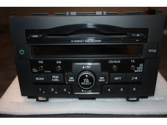 39100-SWA-G212-M1 Radio CD / Multimediapanel - Passar Honda CR-V