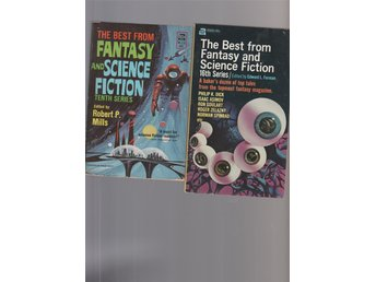 The Best from Fantasy and Science Fiction   16 and   5   Ace B  1953 1966-7