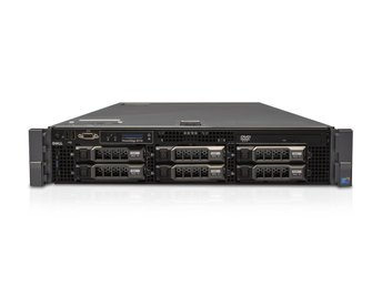 Dell PowerEdge R710 - 12 kärnor / 24 trådar - 144GB - 6x SAS