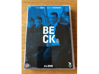 Beck: Box 5. NY/inplastad! (DVD-box)