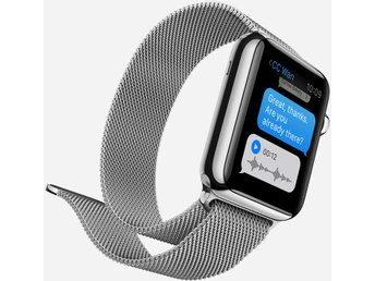 Milanese band till stål magnet Apple watch 42mm