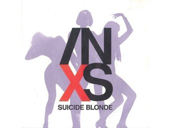 INXS Suicide Blonde 1990 West Germany 7""