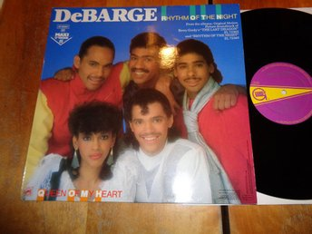 "DeBarge ""Rhytm Of The Night/Queen Of My Heart"""