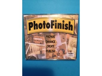 CD-ROM Photo Finish, Prepare, Enhance, Create, Publish