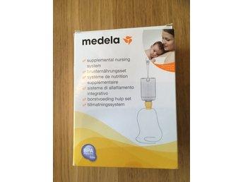 Medela SNS tillmatningsset (334423991) ᐈ Köp på Tradera 6fa59a4164339