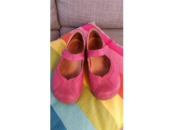 2cc948293f3f Cinnamon skinn skor ballerina Pigga Peggy Mycke.. (349265017) ᐈ Köp ...