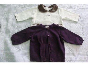 Cardigan/tröja flicka str62 - Boxholm - Cardigan/tröja flicka str62 - Boxholm