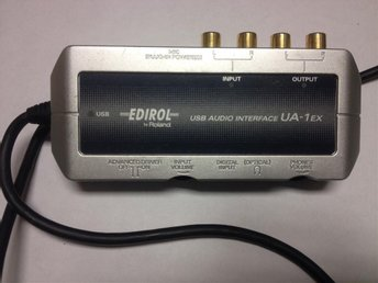 USB AUDIO INTERFACE UA-1EX