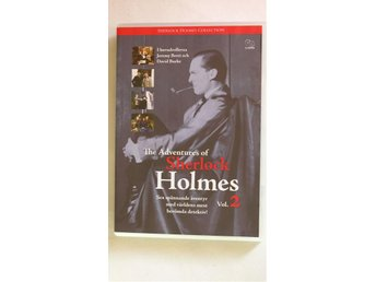 The adventures of Sherlock Holmes vol 2 JEREMY BRETT  FINT SKICK SVTEXT UTGÅTT