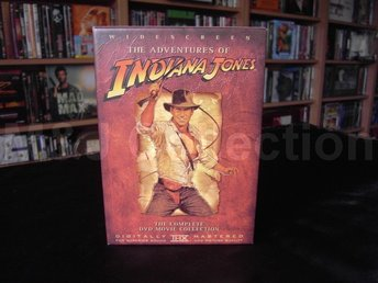 THE ADVENTURES OF INDIANA JONES - THE COMPLETE DVD MOVIE COLLECTION (WIDESCREEN)