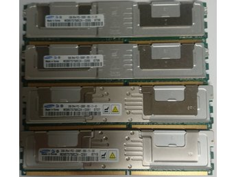 8GB (4x2GB) Kit PC2-5300F FB-Dimm för tex Proliant DL360 DL380 G5