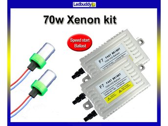 Xenon Speed start 70W H1 6000K AC digital slim kit Fast Bright xenonkit HID