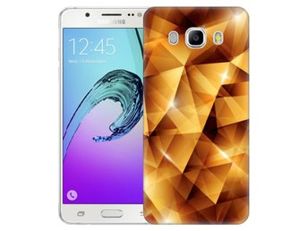 Samsung Galaxy J5 (2016) Skal Golden Polygons