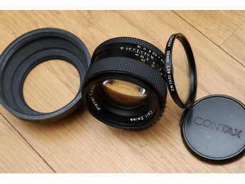 Carl Zeiss Planar 50mm 1:1.4 T* med Contax Yashica? C/Y fattning