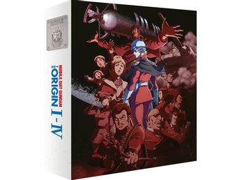 Mobile Suit Gundam the Origin I - IV Collectors Edition Blu-Ray
