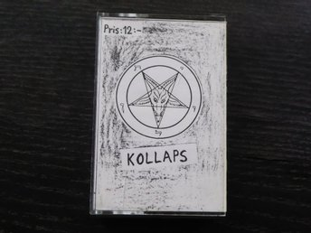 KOLLAPS - Obsessed with satan SURVIVORS tapes Svensk punk demo -86