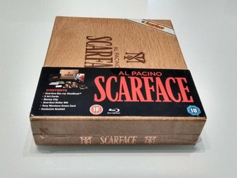 Scarface / Limited Edition - Blu-ray Collector's Cigar Steelbook Boxset