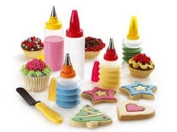 Cookie & Cupcake decorating set NYTT