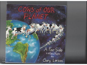 Gary Larson Cows of our planet paperback  som ny