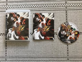 Street Fighter IV till Playstation 3, PS3, komplett