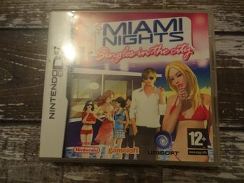 Nintendo DS Miami Nights singles in the city