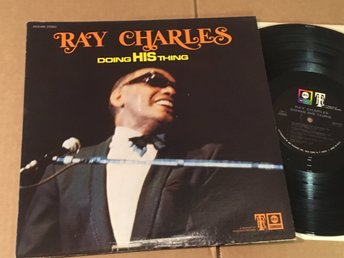 RAY CHARLES doing his thing LP -69 US ABC ABCS-695