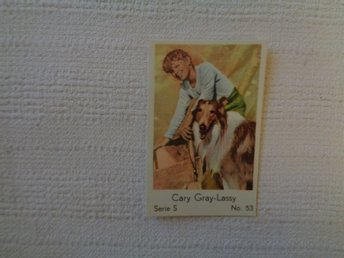 Nr 53 Gary Gray/Lassie- Serie S 1957- Stor  text