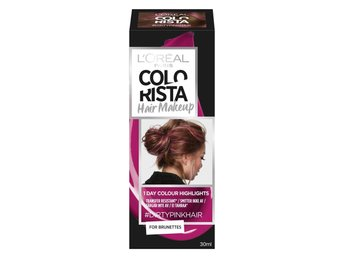 LOREAL PARIS COLORISTA HAIR MAKEUP DIRTYPINK 14