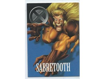 MARVEL X-MEN  SAMLARKORT - SABRETOOTH