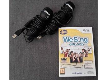 We Sing encore för Wii - INKLUSIVE 2 mikrofoner! - Södertälje - We Sing encore för Wii - INKLUSIVE 2 mikrofoner! - Södertälje