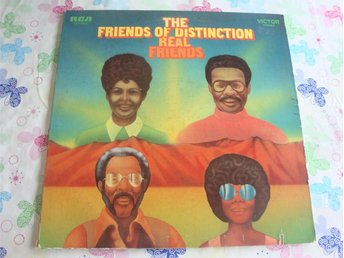 REAL FRIENDS - THE FRIENDS OF DISTINCTION LP 1970 - Sundsvall - REAL FRIENDS - THE FRIENDS OF DISTINCTION LP 1970 - Sundsvall