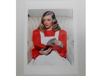 VERONICA LAKE - Publicity photo, 1955 - *A4*-print NME!