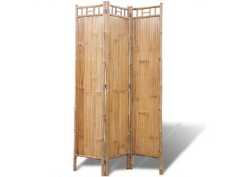 Rumsavdelare 3 paneler bambu - Am Venray - Rumsavdelare 3 paneler bambu - Am Venray
