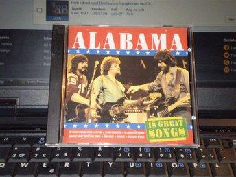 Alabama-18 great songs. - Rödeby - Alabama-18 great songs. - Rödeby
