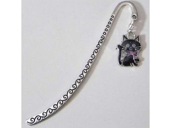 Katt bokmärke / Cat bookmark
