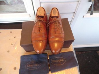 Church´s Custom Grade oxfordskor storlek UK 8,5