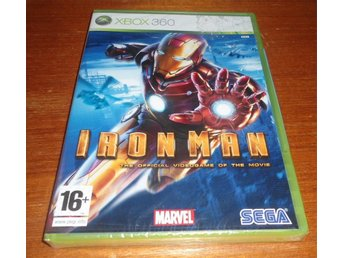 Iron Man The Official Videogame Of The Movie Nytt & Inplastat - Xbox 360