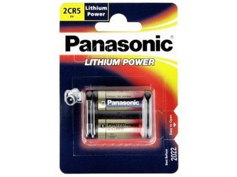 1 Panasonic Photo 2 CR 5 Lithium
