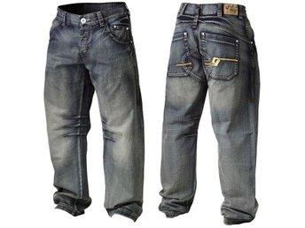 GASP Baggy Denim Jeans L Washed Black - Norrtälje - GASP Baggy Denim Jeans L Washed Black - Norrtälje